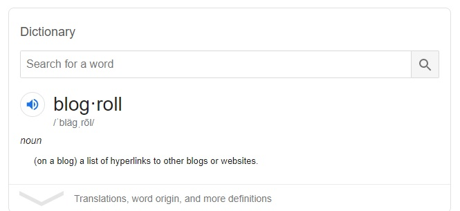 Should I add Blogroll to my blog?